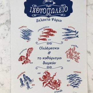 FishMonger Print