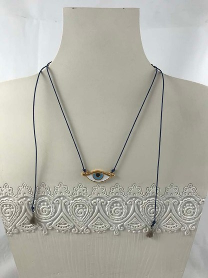 Blue Mati Necklace
