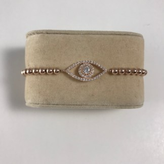 Beaded Crystal Mati Bracelet