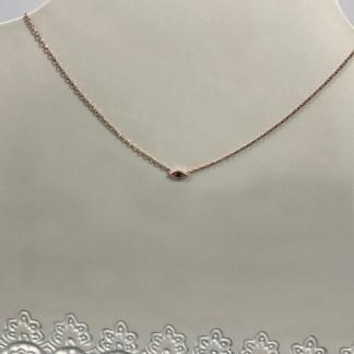 Halki Black Mati Necklace
