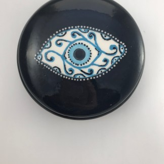 Large Fancy Eye Trinket Box