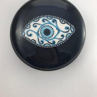 Large Fancy Eye Trinket Box