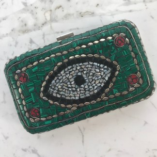 Mosaic Purse Green