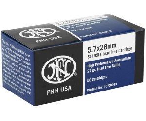 Buy Federal FNH 5.7x28mm Ammo 27 Grain Jacketed Hollow Point Online