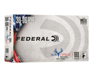 Buy Federal Non-Typical .30-06 Springfield SP 180 Grain Online
