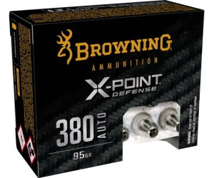 Buy Browning X-Point 380 ACP 95 Grain Ammo Online