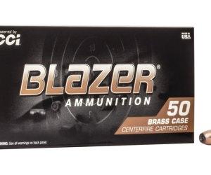 Buy CCI Ammunition Blazer Brass 357 Magnum Jacketed Hollow Point Online