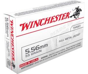 Buy Winchester USA 5.56x45mm NATO Full Metal Jacket Online