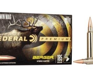 Buy Federal Premium Berger Hybrid Hunter 300 Win Mag 185 gr Online