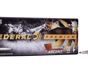 Buy Federal Premium Trophy Copper 6.5mm PRC 120 Grain Brass Online