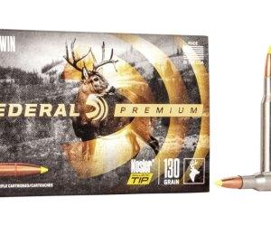 Federal Premium VITAL-SHOK .270 Winchester 130 grain Nosler Ballistic Tip