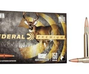 Federal Premium VITAL-SHOK .270 Winchester 150 grain Nosler Partition