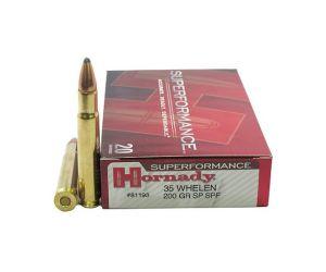Hornady Superformance Ammunition 35 Whelen 200 Grain Soft Point