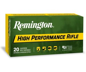 Remington High Performance Rifle Ammunition 35 Whelen 250 Grain Core-Lokt Pointed Soft Point