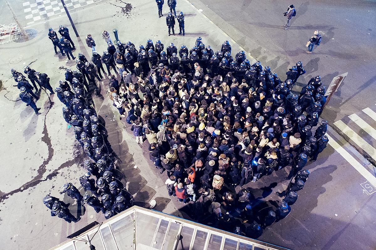 France:  le droit de manifester menacé
