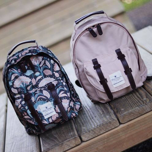 Elodie Details Mini Backpack Midnight Bells and Powder Pink