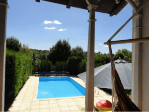 Relax by the pool in the glorious French sunshine