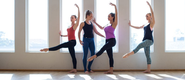 Barre Attack class at Balance Moves Bondi with Renee Scott