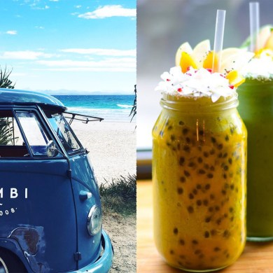 Combi, Byron Bay, smoothies, healthy cafe