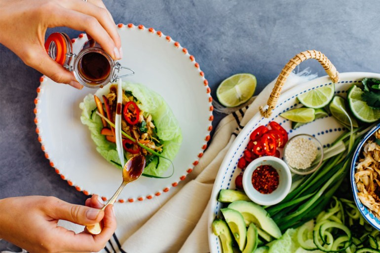 Gluten-free chicken tacos from Camille Styles