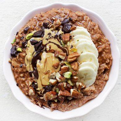 Jessicas Seele Cacao and Peanut Butter Porridge