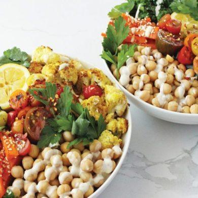 rainbow bowl lunch ideas