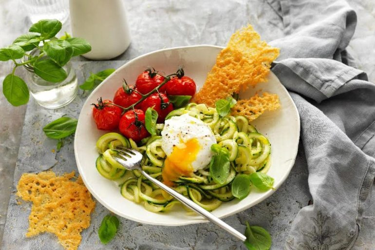 Mediterranean-Inspired, Keto-Friendly Egg Zoodle Recipe