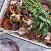 Lee Holmes Recipe: A Sweet & Rich Creamy Roasted Fig, Walnut & Goat's Cheese Salad