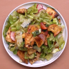 fattoush salad recipe, middle eastern food