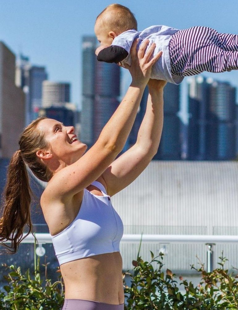 Postpartum fitness with Tanya poppett