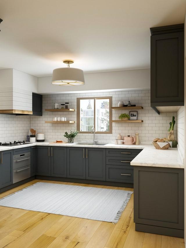 black kitchens trending