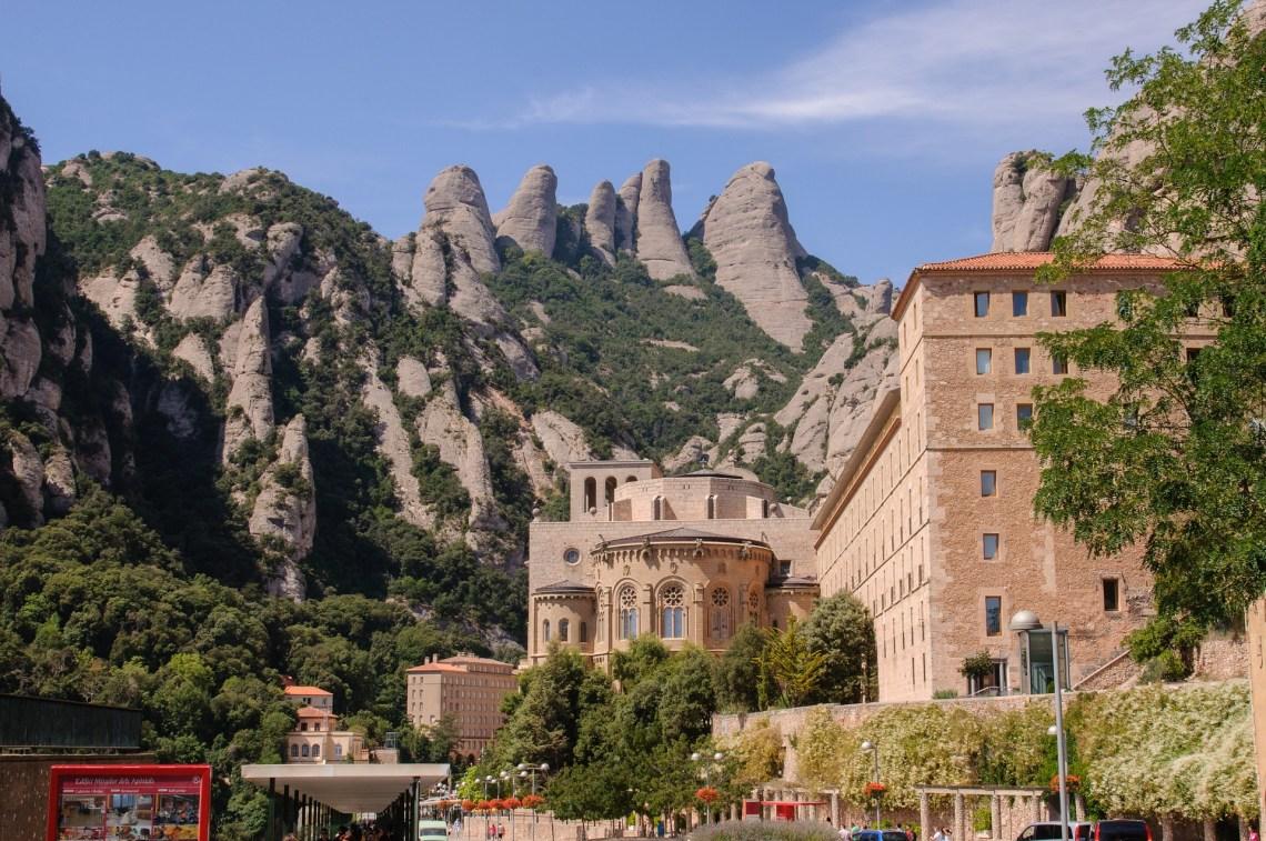 como ir monasterio montserrat barcelona