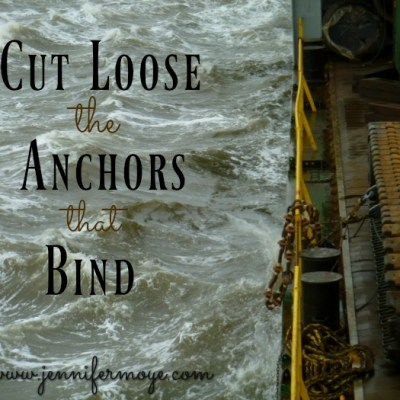 Cutting Loose The Anchors – Jesus & Coffee Linkup