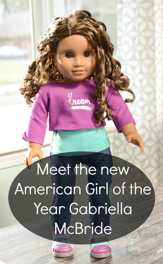 Meet The New American Girl Of The Year Gabriela McBride