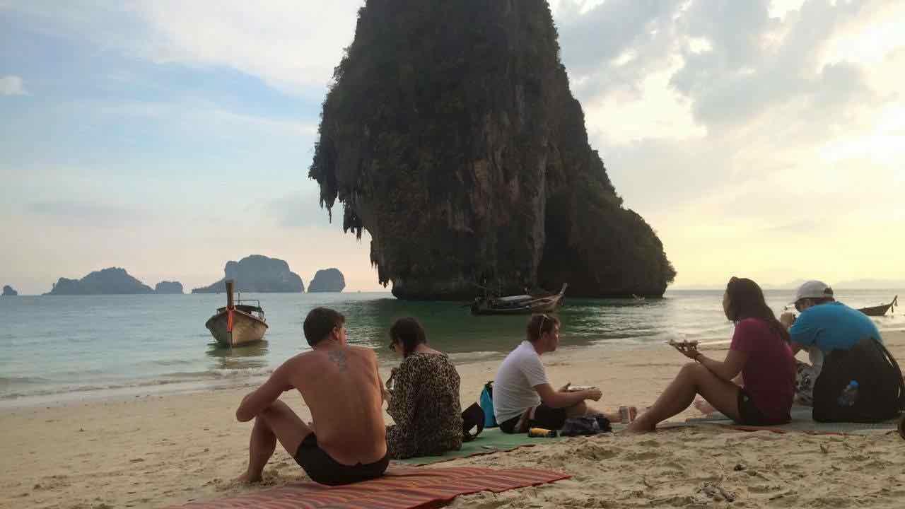 Amon Tour Krabi Phranang Sunset Clem Thailande - 11