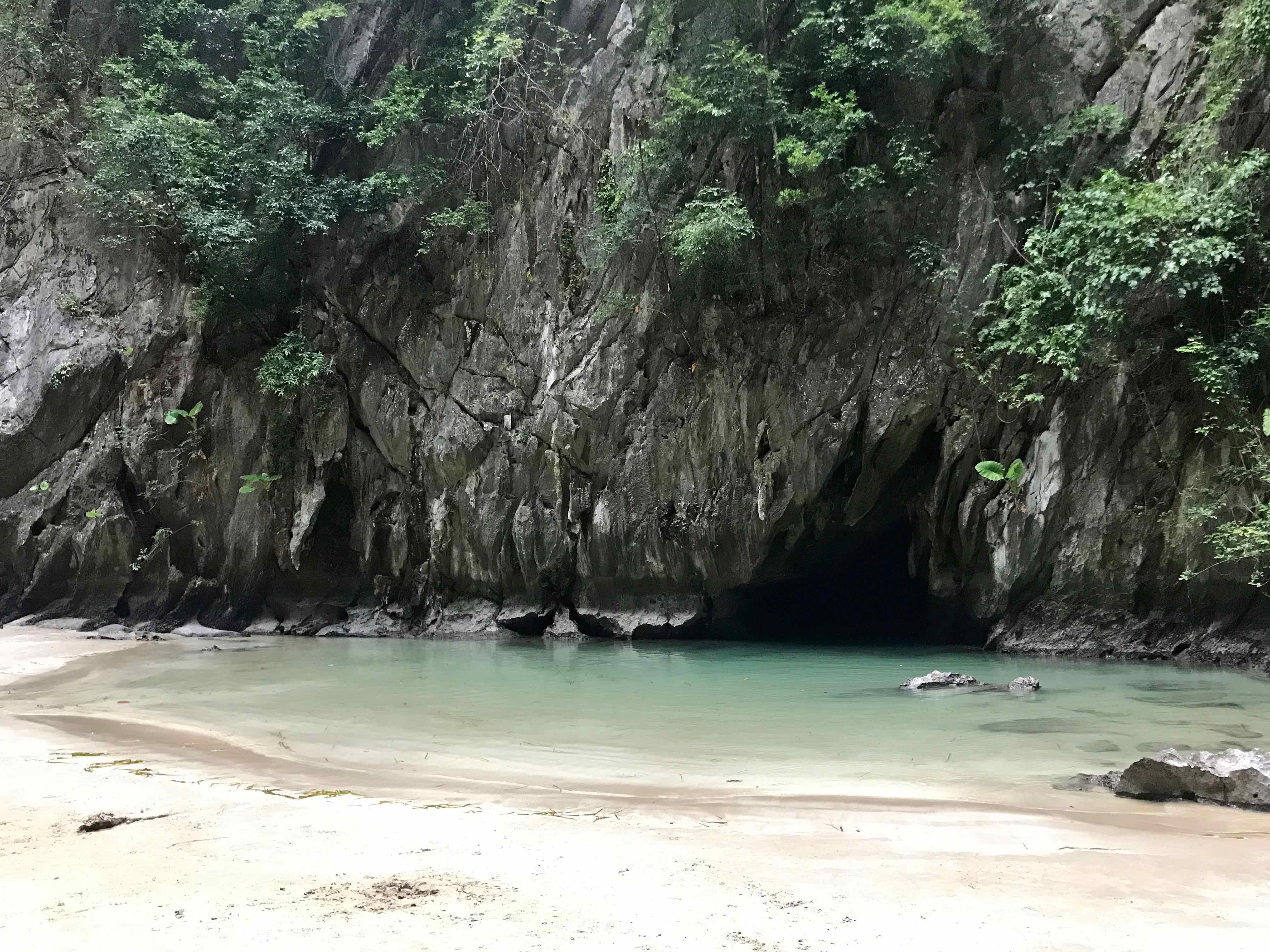 grotte d'émeraude