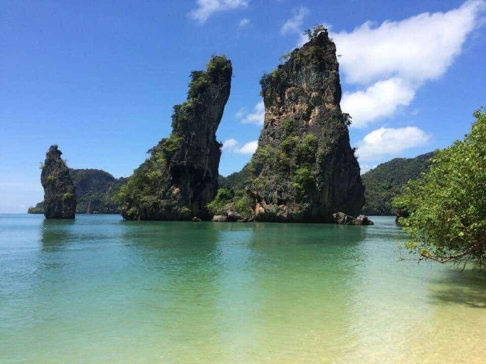 La baie de Phang Nga Koh Hong Koh Yao Noi Kudu