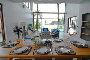 Casteway villa Thalane living room