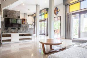 Villa Seb Klong Mueang salon inside