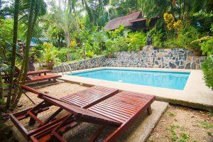 Khao Sok Las Orchideas pool