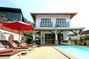canaan villa aonang