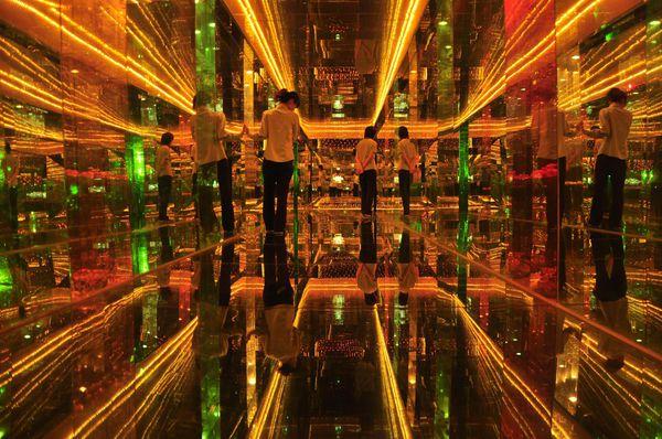 J018-P005獨創的黃金迴廊,金碧輝煌