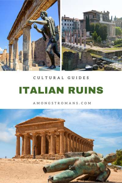 guide to Roman ruins in Italy