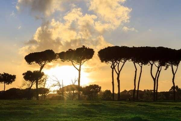 Aqueduct Park in Rome also known as Parco degli Acquedotti