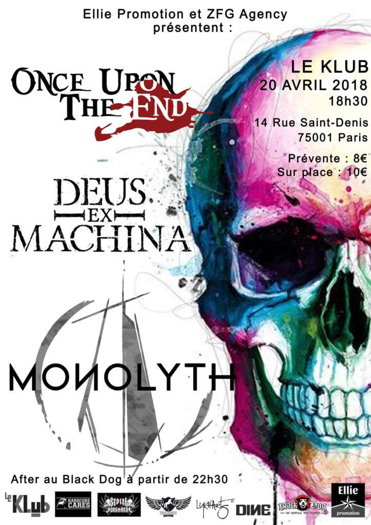 Monolyth - Deus Ex Machina - Once Upon the End