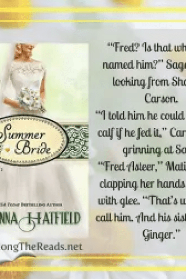 Summer Bride by Shanna Hatfield – Book Review, Preview