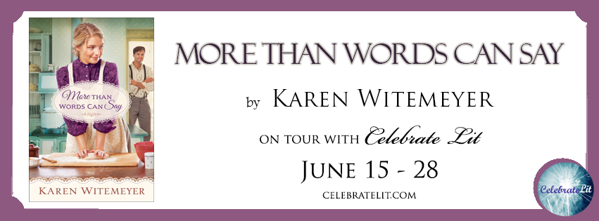 More Than Words Can Say by Karen Witemeyer - Book Review, Preview