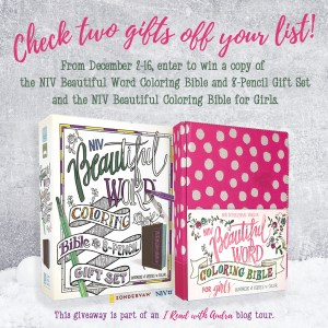 Beautiful Word Coloring Bible for Girls Giveaway