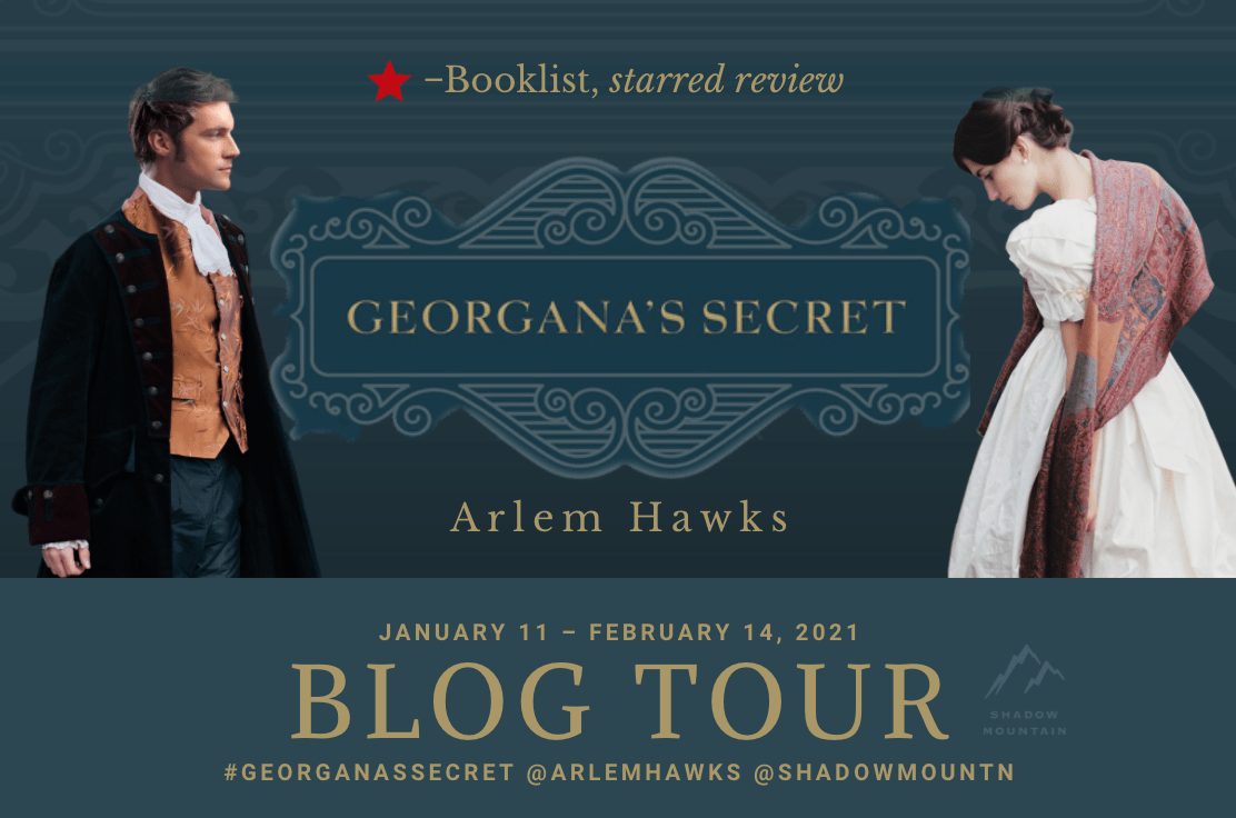 Georgana's Secret by Arlem Hawks - Book Review