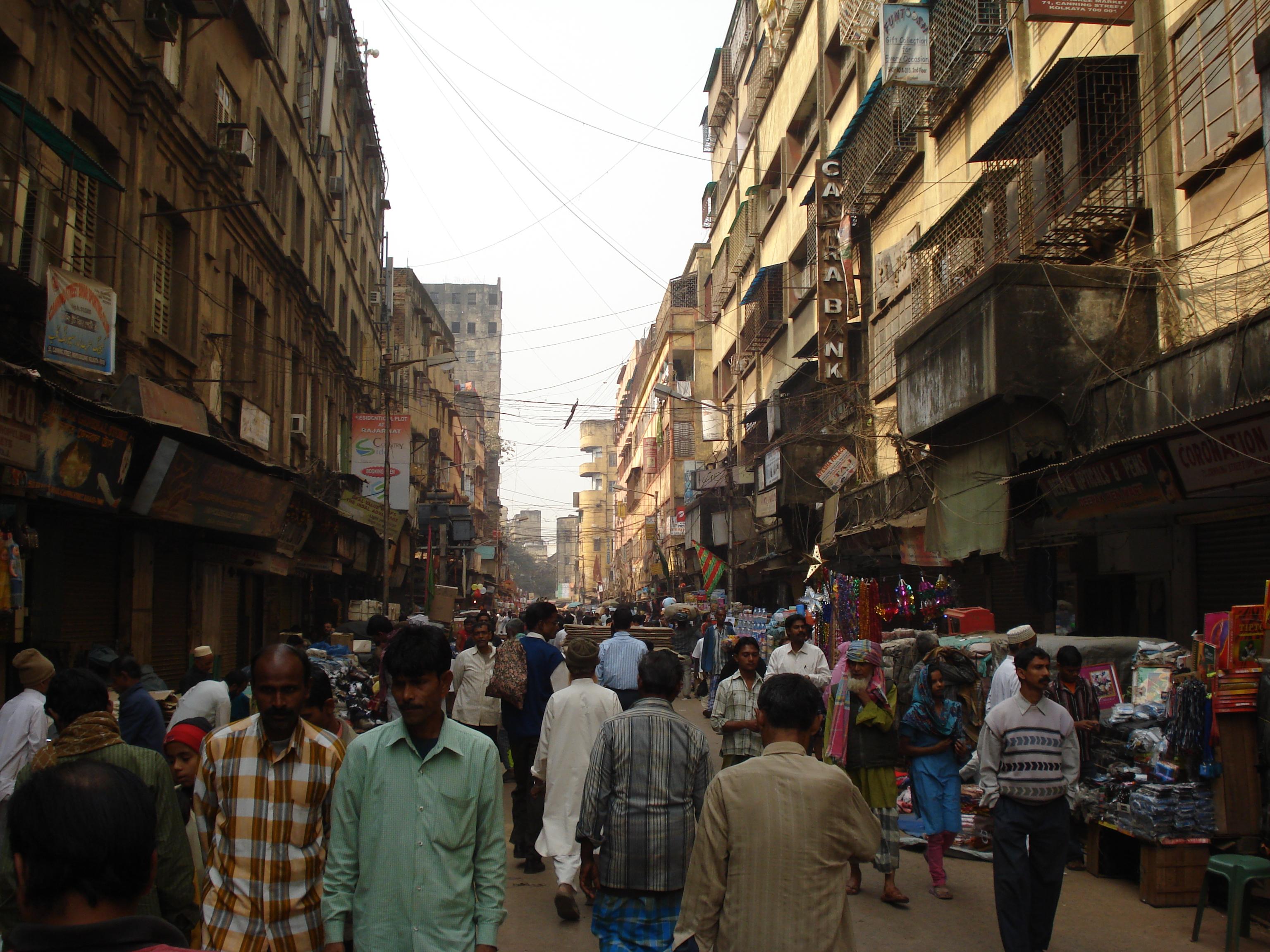 Kolkata streetscape